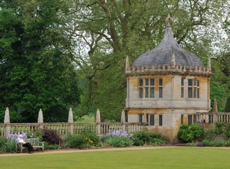 Garden terrace pavilion, Montacute House, Somerset, England